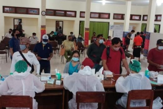 Pilkada Sebentar Lagi, Hasil Tes Cepat 1.106 KPPS di Bali Reaktif Covid