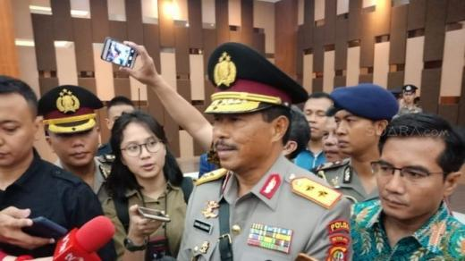 Pamitan dari Polda Metro, Irjen Nana Sudjana: Sulit Lawan Corona, Polisi Biasa Hadapi Maling