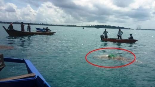 Geger Mayat Tanpa Kepala Mengampung di Tanjung Talok Bintan