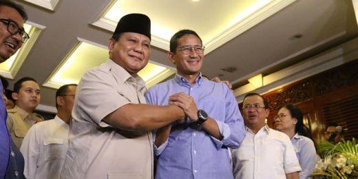 Prabowo Sebut Sandiaga Uno Berpeluang Jadi Capres 2024