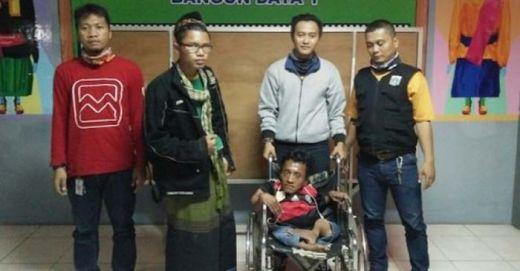 Mengemis Pakai Kursi Roda, Penyandang Disabilitas Ini Raup Rp 200 Ribu per Hari