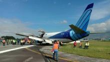 Pesawat Kargo Trigana Air dari Makassar Tergelincir, Bandara Halim Ditutup Sementara