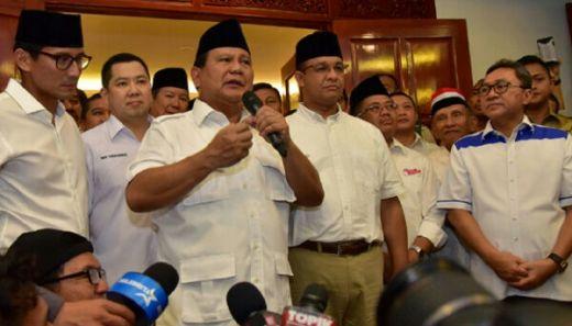 Anies-Sandi Menang, Prabowo Berterima Kasih kepada Para Ulama
