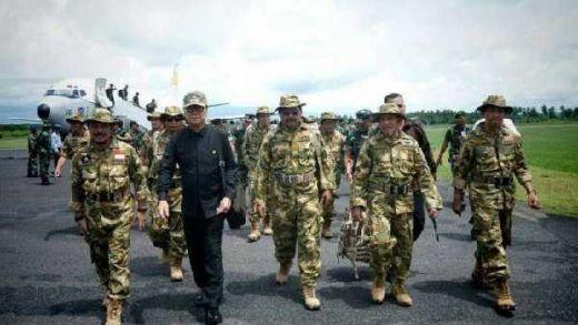 Gubernur se Indonesia Latihan Perang di Natuna Kecuali Gubernur Riau Arsyadjuliandi Rachman