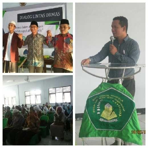 Dialog Lintas Ormas, Mujahidin Nur: Peran Ormas Islam Sangat Penting dalam Menjaga Ukhuwah Islamiah di Indonesia