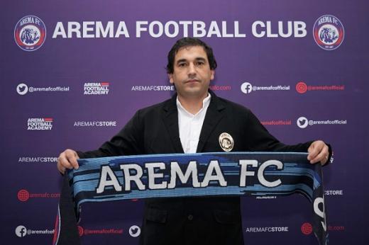 Eduardo: Tantangan Besar Latih Arema FC