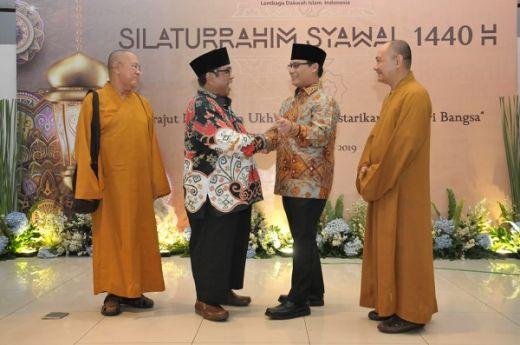 Silaturahim Syawal Pimpinan MPR dan LDII Menyatukan Elemen Bangsa