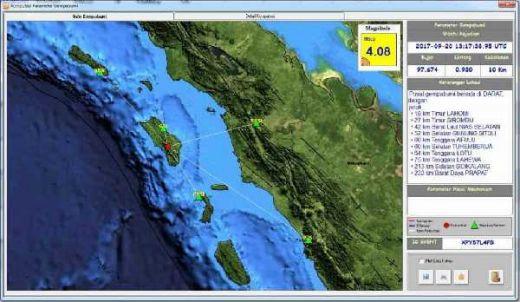 Diguncang Gempa 4,2 SR, Pulau Nias Tidak Berpotensi Tsunami