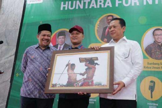 DPR Beri Bantuan Hunian Sementara Untuk Korban Gempa Lombok