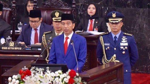 Pidato Pertama Jokowi sebagai Presiden RI periode 2019-2024