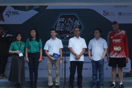 FinExpo & Sundown Run Tandai Puncak Bulan Inklusi Keuangan 2019