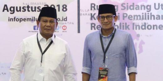 Beda Sikap Politik Sandiaga dengan Prabowo Jelang Pelantikan Jokowi
