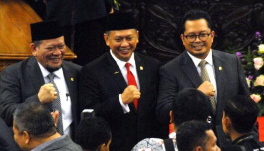 Pidato Ketua MPR saat Pimpin Sidang Pelantikan Presiden-Wapres 2019-2024