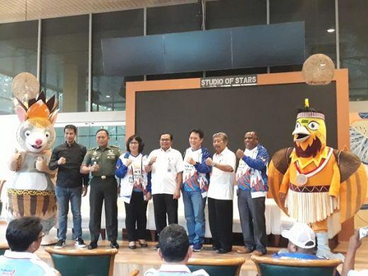 Luncurkan Maskot, Papua Siap Gelar PON XX/2020