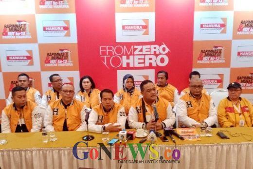 Tak Banyak yang Tahu Hanura Punya 894 Legislator Daerah, Dan akan Hadiri Rapimnas