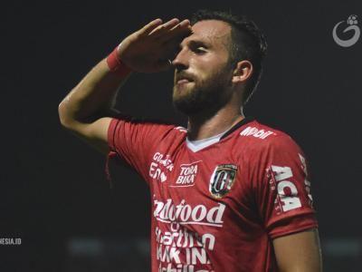 Spasojevic Minta Maaf Tak Mampu Bawa Bali United Juara