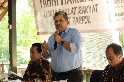 Fahri Hamzah Luncurkan Buku Putih Daulat Rakyat vs Daulat Parpol