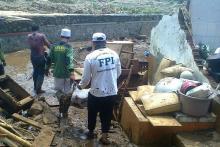 Bubarkan Relawan FPI saat Bantu Korban Banjir, Polisi: Mereka Pakai Atribut Terlarang
