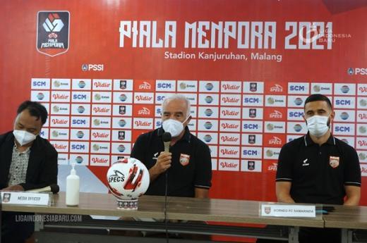 Dipresiksi Jadi Kuda Hitam, Pelatih Borneo FC: Tak Ambil Pikir