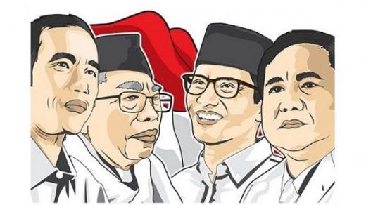 Hingga Pukul 07.00 WIB, Rekat Indonesia Mencatat Prabowo-Sandi Raih 68,1 Persen, Jokowi-Maruf 31,9 Persen
