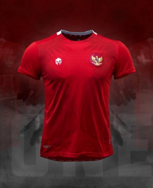 Jersey Timnas Indonesia Diluncurkan