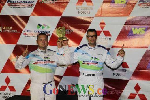 Rizal Sungkar Kembali Rajai Kejurnas Sprint Rally IXSOR 2017