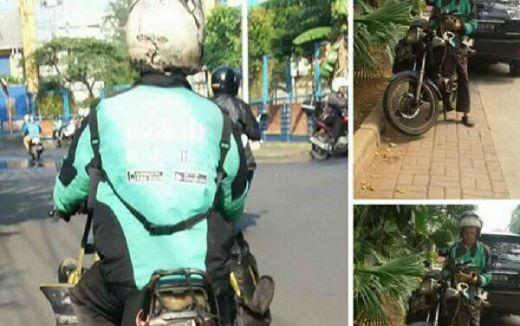 Pria Tua Tukang Ojek Diburu Klub Yamaha RX King, Alasannya Bikin Haru
