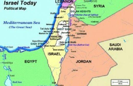 Amerika Serikat Sebarkan Video Peta Israel Tanpa Al-Quds, Dataran Tinggi Goland dan Tepi Barat
