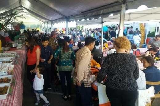 Bukan Cuma Nasi Lemak, Bolu Kemojo dan Kacang Pukul Juga Diserbu 3.500 Pengunjung di SolidaRiau 2017 Spanyol