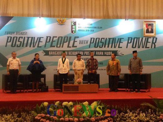 Gubernur Lemhanas: People Power Positif Tak Perlu Turun ke Jalan