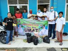 Bagikan Nasi Box Umat ke Panti Asuhan, Start-up Lokal dan HAMI Riau Minta Dibayar Pakai Doa