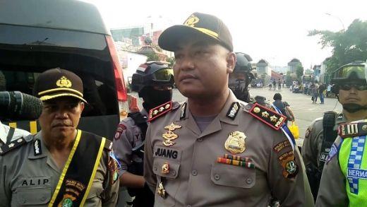Meriahkan Festival Damai dan MRSF, Polres Metro Tangerang Kota Giring Ribuan Massa ke Monas