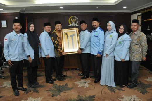 Terima Delegasi BKPRMI, Wakil Ketua MPR Berpesan agar Umat Islam Tetap Jaga Ukhuwah