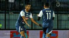 Arema Sukses Pecundangi Sriwijaya FC di Kandang dengan Skor 0-3