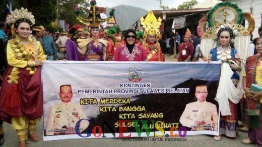 Wakili Sulawesi Selatan di Karnaval Budaya Demokrasi Danau Toba,  Kota Parepare Tampilkan 3 Tarian Etnis