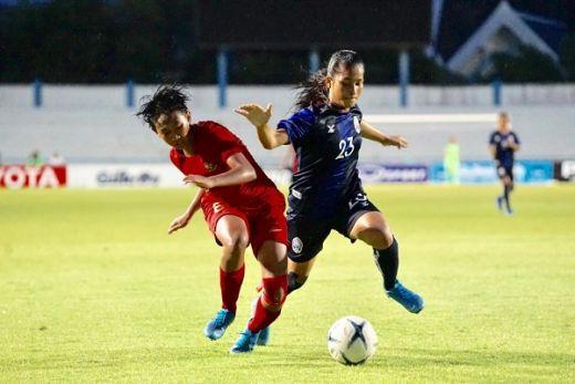 Timnas Putri Indonesia Hanya Menang Lawan Kamboja
