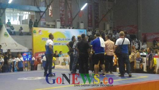 Pertandingan Final Wushu Antara Sumut vs Jabar Kembali Ricuh, Semua Wasit Diajak Duel