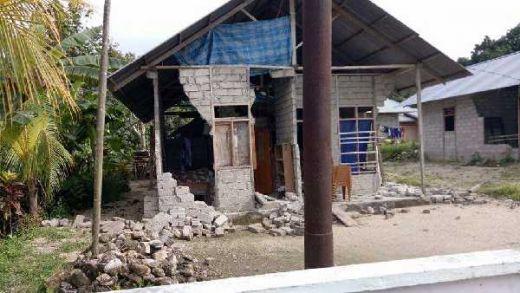 Gempa 5,3 SR Guncang Nias Utara, Ratusan Rumah di Morotai Rusak