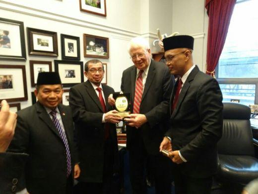 Bela Palestina, Rohingnya dan Uighur, F PKS DPR Sambangi Kongres Amerika