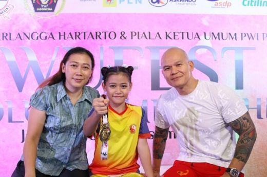 Gweneth Membidik Kejuaraan Dunia Wushu Yunior 2022
