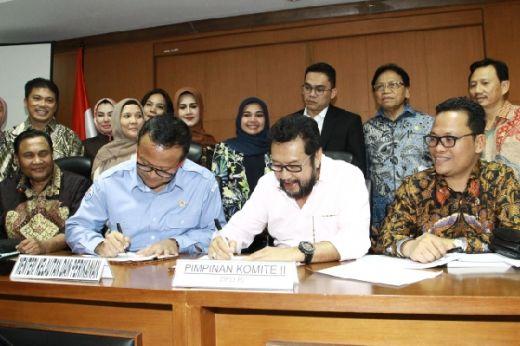 Komite II DPD RI Dukung KKP Majukan Potensi Kelautan dan Perikanan Nasional, Utamanya di Daerah