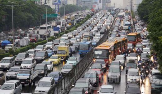 Duh... Ternyata Jakarta Masuk 5 Besar Macet Terburuk di Dunia