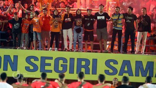 Borneo FC Puji Animo Penonton Saksikan Laga Uji Coba