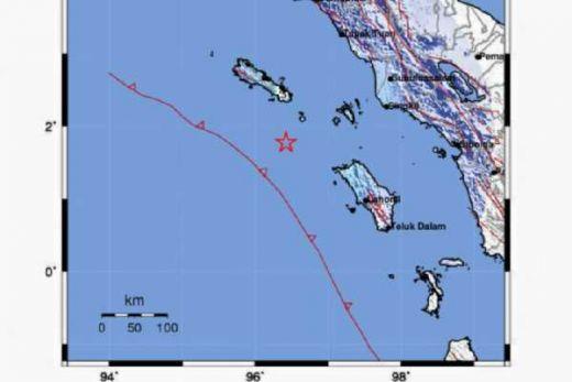 Malam Ini, Gempa 5,1 SR guncang Aceh