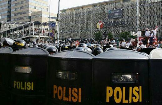 Diduga Provokator, Polisi Tangkap 20 Orang Lebih dan Diamankan di Polres Jakpus