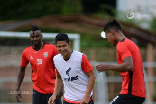 Borneo FC Sempurnakan Program Latihan dengan Uji Coba di Yogyakarta