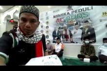 Muslim Papua Serahkan Puluhan Juta Rupiah untuk Palestina via Baznas