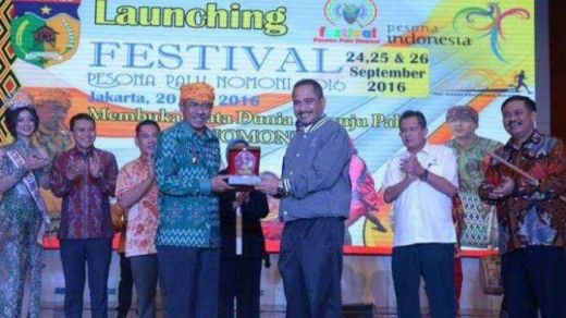 Festival Pesona Palu Nomoni 2016 Diluncurkan di Balairung Gedung Sapta Pesona