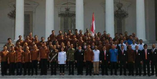 Lepas Kontingen Tim Olimpiade Rio de Jeneiro, Presiden Jokowi: Lagu Indonesia Raya Harus Menggema di Brazil
