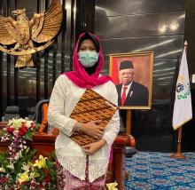 Atlet Criket Putri Pemegang Rekor Dunia Dapat Penghargaan di HUT DKI